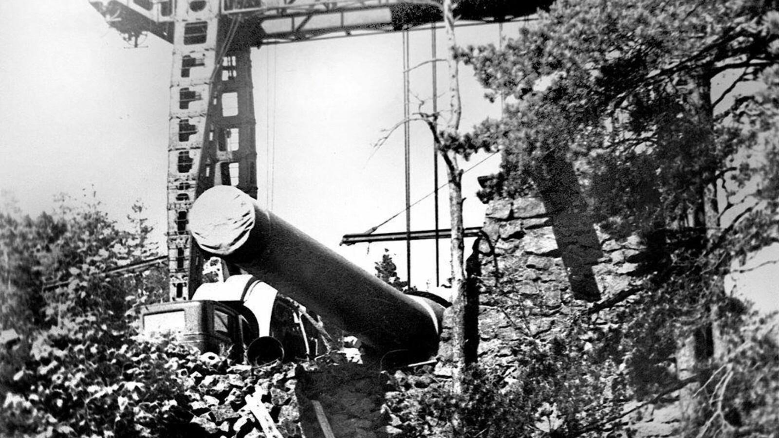 <b>KJEMPEKANON:</b> Fra Nøtterøy kunne kanonen på Vardås Fort nå helt til svenskegrensen