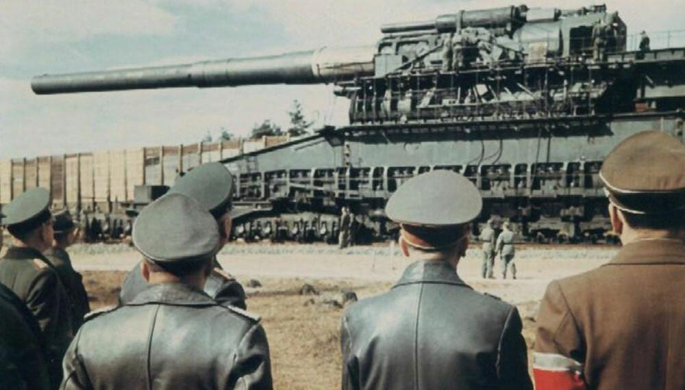 Schwerer Gustav er historiens største artilleri, men bleknet likevel mot omfanget av V-3-prosjektet som skulle kunne skyte nesten tre ganger så langt - med 10 skudd i minuttet.