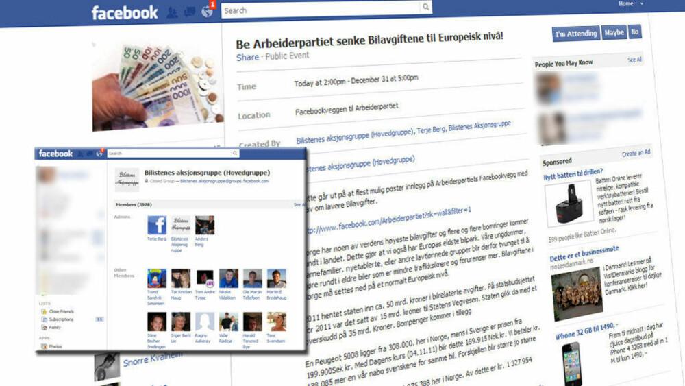 7afc5bc9 Aksjonister spammer ned Facebook-sidene til Ap - Side3