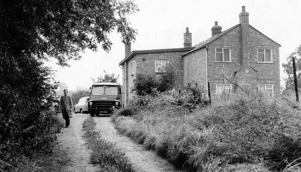 SKJULESTED: Ranerne hadde kjøpt gjemmestedet, den avsidesliggende gården Leatherslade Farm, gjennom en advokat som ikke var så nøye på rett og galt.