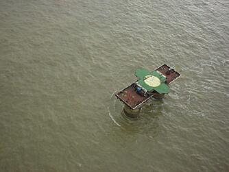 EGET LAND: Sealand er et fyrstedømme utenfor Storbritannia, men ligger i internasjonalt farvann.