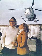 GRUNNLEGGER: Paddy Roy Bates ble senere fyrst av Sealand. Her avbildet sammens med kona.