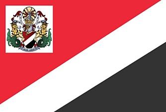 FLAGG: Sealands eget flagg.