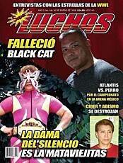 DEN STUMME DAMEN: Juana Barazza deltok i Lucha Libre som La Dama Del Silencio (Den stumme damen).