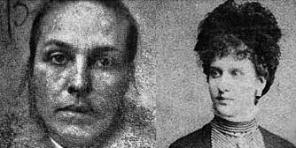 HENGT: Amelia Sach og Annie Walters ble hengt 3. februar 1903. Dette er den eneste kjente saken i moderne tid hvor to kvinner har blitt hengt for én forbrytelse.