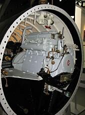 BUSSMOTOR: Motorene i X-klasse ubåtene var ombygde bussmotorer.