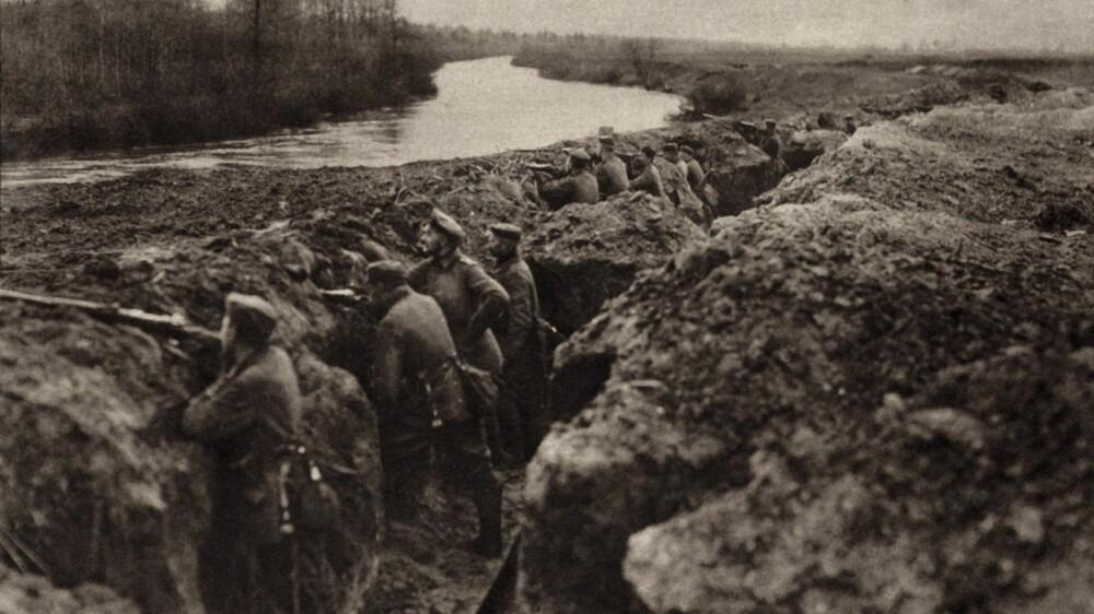 Tyske tropper under første verdenskrig.