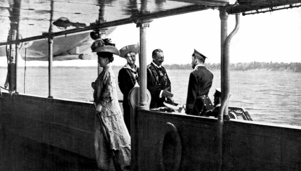 Björkö-avtalen mellom Vilhelm II og Tsar Nikolaj II i 1905. Avtalen var en forsvarsavtale gjort mellom Russland og Tyskland som sa at hvis landene ble angrepet av noen andre skulle de støtte hverandre. Tsaren ble overprøvd da han kom tilbake til Russland, og allianseavtalen ble aldri ratifisert av regjeringene.