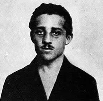 Gavrilo Princip, mannen som skjøt Franz Ferdinand.
