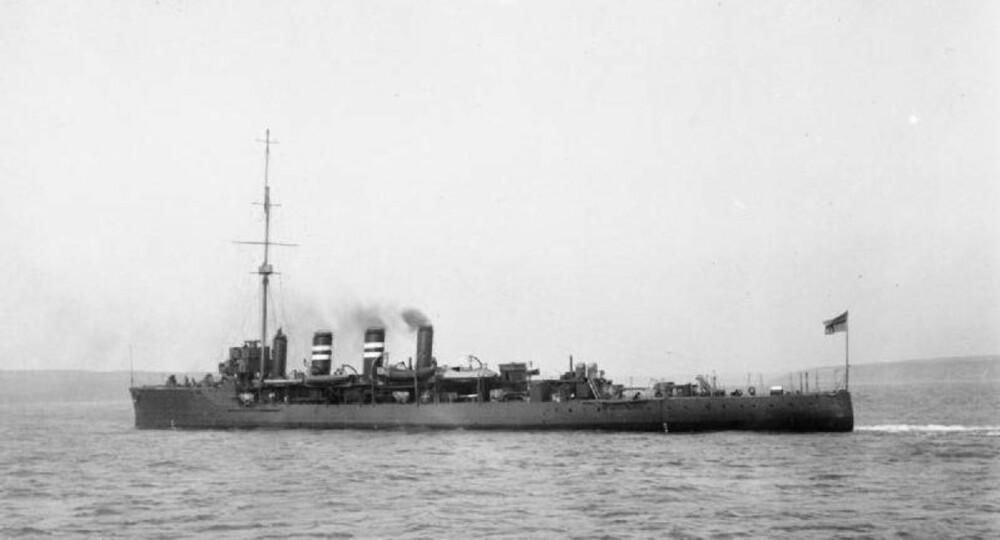HMS Amphion i 1911