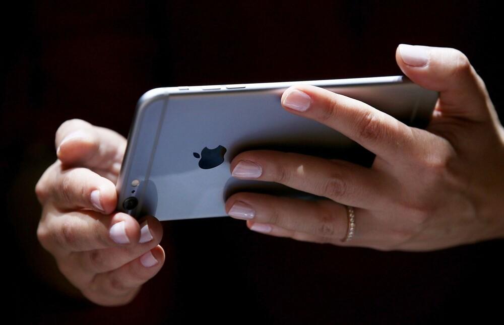 """I likhet med iPad, har den såkalte """"phableten"""" iPhone 6 Plus lanskapsmodus."""