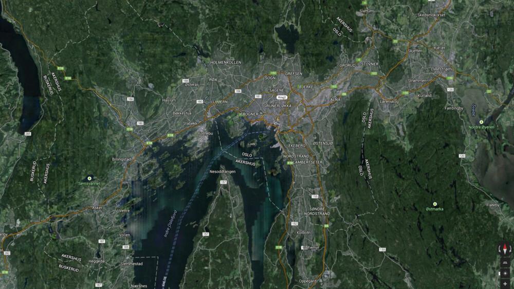 Hvor mye av dette er egentlig byen Oslo?