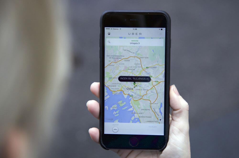 Uber kan bli lovlig i Norge om Konkurransetilsynet får det som de vil.
