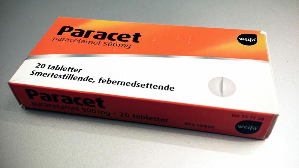 LIVSFARLIG: Selv små doser paracetamol kan være dødelig for barn og unge. Britiske myndigheter advarer mot #paracetamolchallenge.