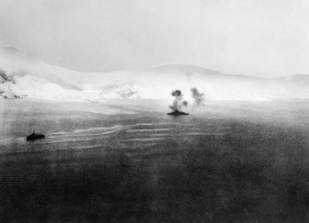 HMS Warspite under det andre sjøslaget ved Narvik