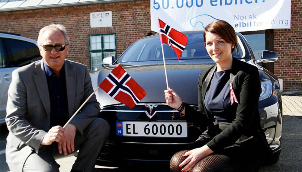 Generalsekretær i Norsk elbilforening, Christina Bu.