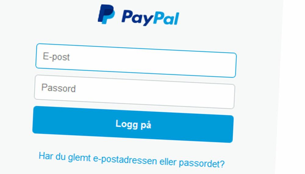c9d25d26 PayPal er et enkelt alternativ, men svært mange nettbutikker skyr tjenesten  på grunn av høye
