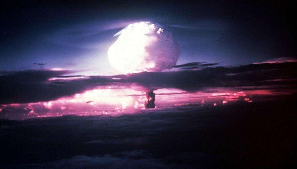 Hva om Hitler var den første som utviklet atombomben?