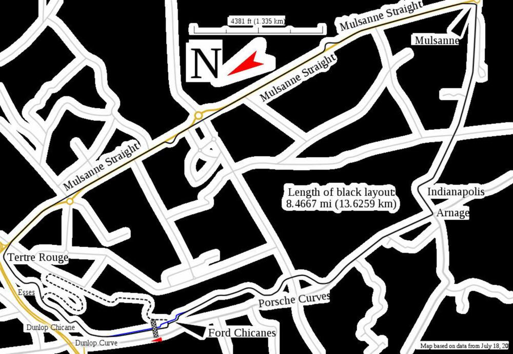 24-timersløpet på Le Mans arrangeres på Circuit de la Sarthe i nærheten av Le Mans i Frankrike. Løpet blir ofte omtalt som bare Le Mans.
