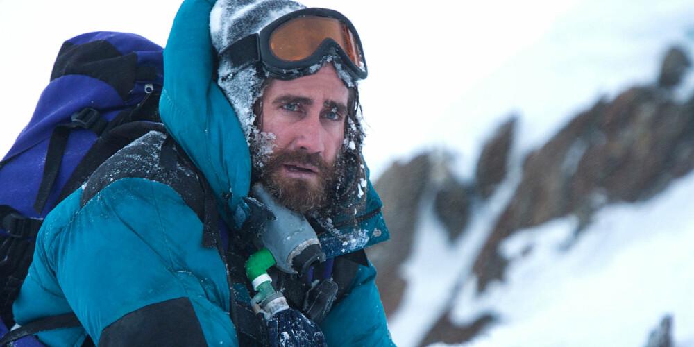 PÅ VEI TIL TOPPS: Jake Gyllenhaal som Scott Fischer i Balthasar Kormakurs Everest.