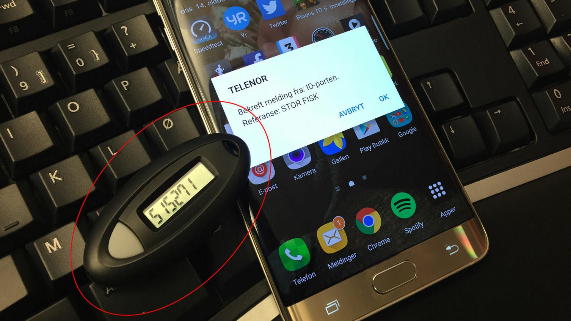 bankid på mobil spv