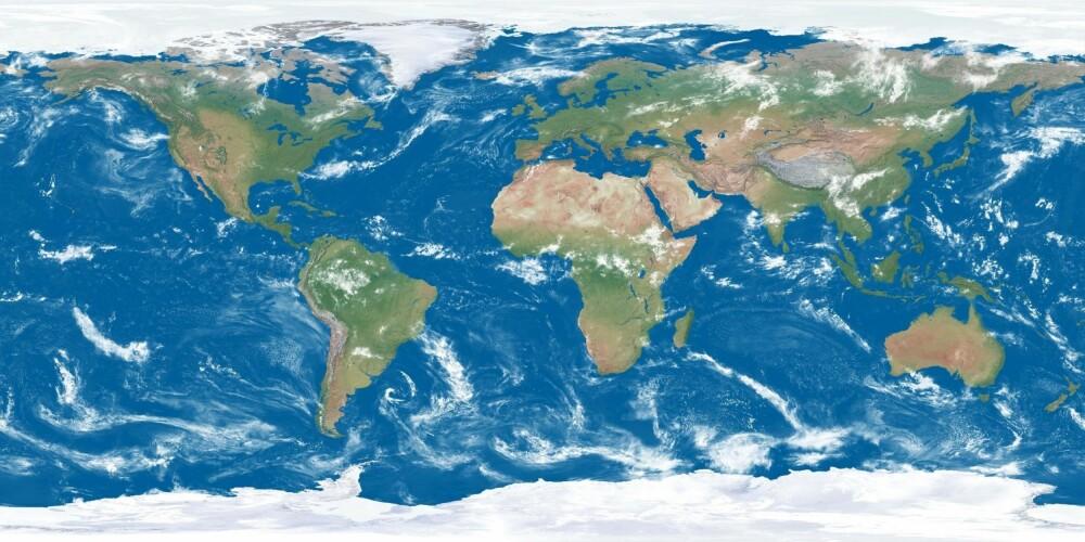 <b>VERDENSKARTET:</b> Hvor mange land er det egentlig i verden?
