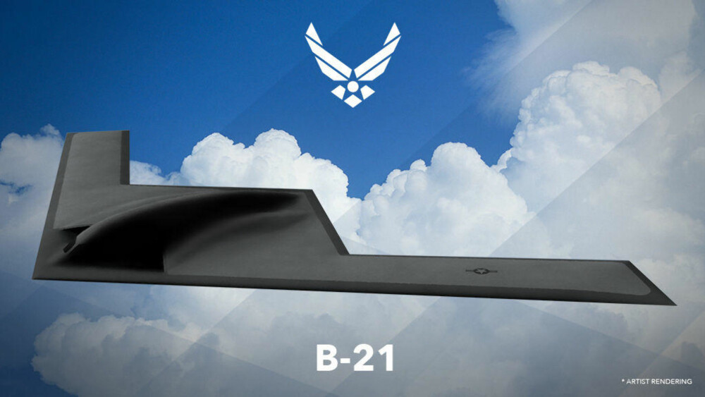 <b>USAS NYE BOMBEFLY:</b> B-21 utvikles av Northrop Grumman og forventes å være operativt innen 2025. Det skal tjenestegjøre sammen med B-2 Spirit, Rockwell B-1 Lancer og Boeing B-52 Stratofortress og etter hvert erstatte disse flyene.