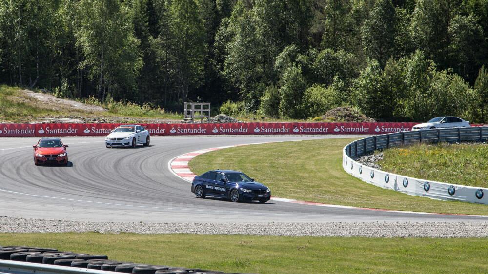 M3 Competition Pack koser seg i sitt rette element: På en trackday. Legg forøvrig også merke til M4 GTS som ligger bak... Dette er den eneste som kommer til Norge.