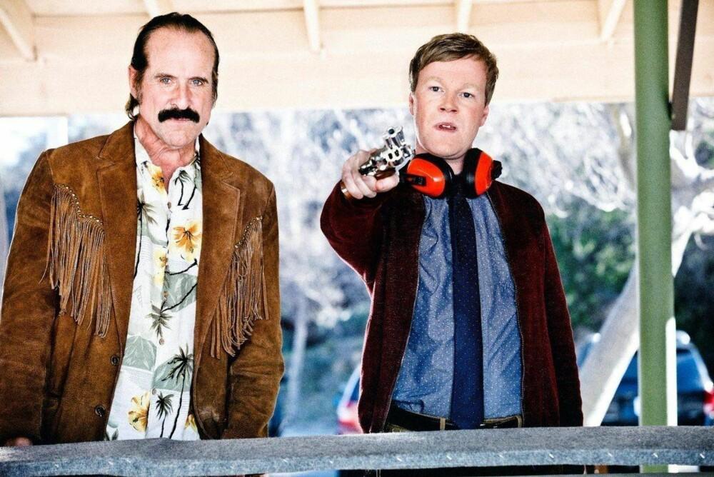 Petter Stormare (t.v.) spiller hovedrollen i den nye TV-serien Swedish Dicks.