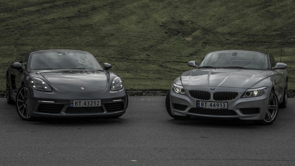 Porsche 718 Boxster vs BMW Z4 sDrive20i