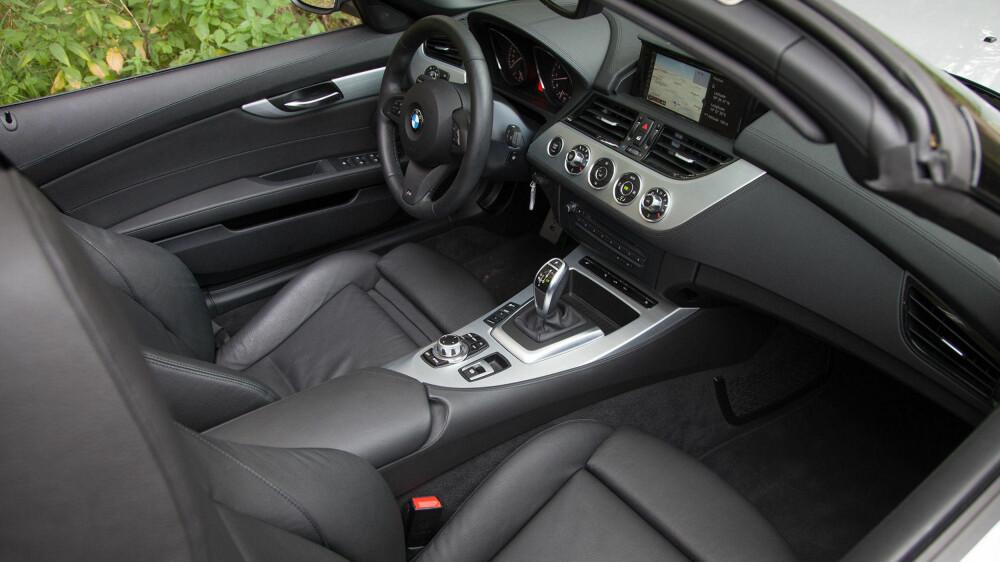 Z4 bærer preg av at det ikke er BMWs nyeste modell.