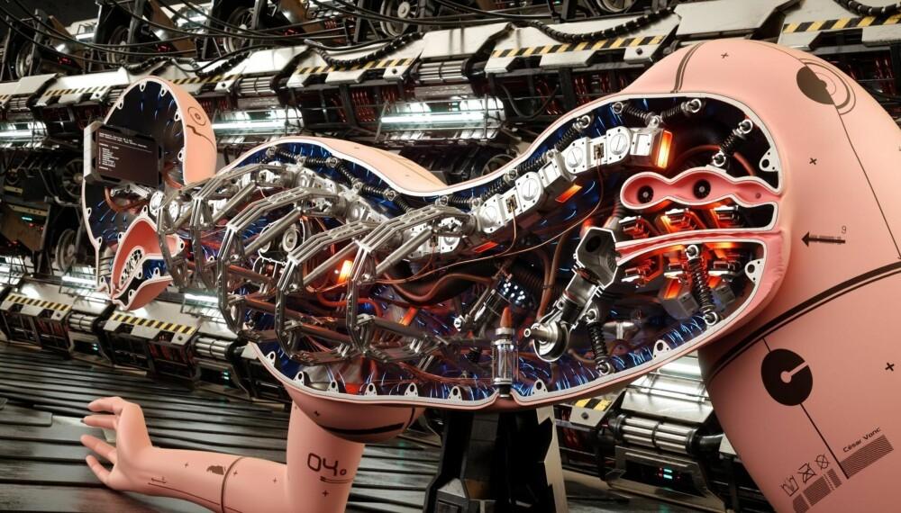 FRAMTIDSSEX: Nye materialer, sensorer, motorer og programvare kan gjøre sex med framtidens roboter vanedannende bra, tror eksperter. Bildet er en illustrasjon.