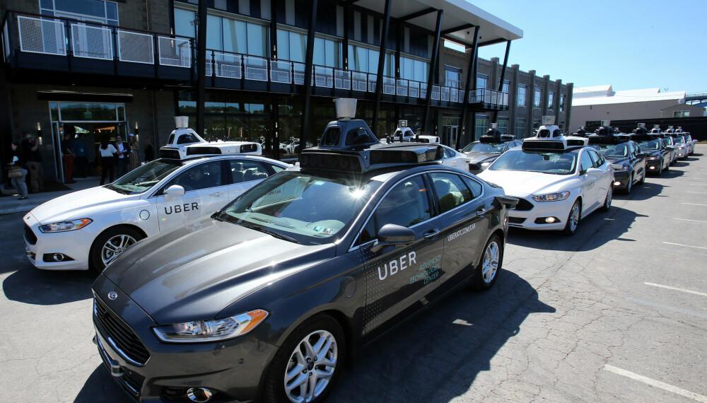 Uber legger ikke skjul på at deres fremtid er biler som kjører rundt av seg selv uten sjåfør.