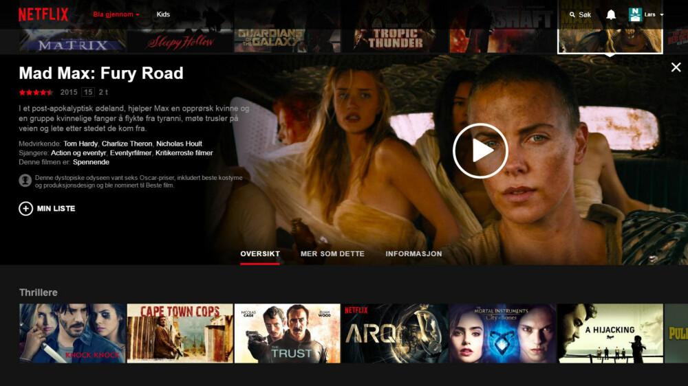 Å bruke Netflix kan være en prøvelse, men det finnes tips og triks som gjør opplevelsen bedre. Klikker du på Informasjon i menyen over ligger det skjult flere valg Netflix sier brukerne ikke kjenner til.