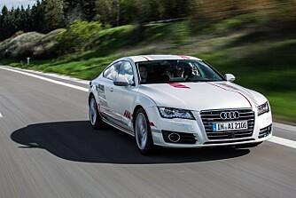 Her er Audis nivå 3-bil i aksjon.