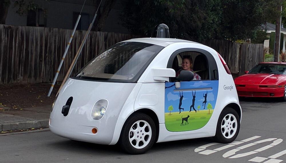 Det ser ut som en lekebil, men Google leker ikke. Med denne forsøker de å nå nivå 5.