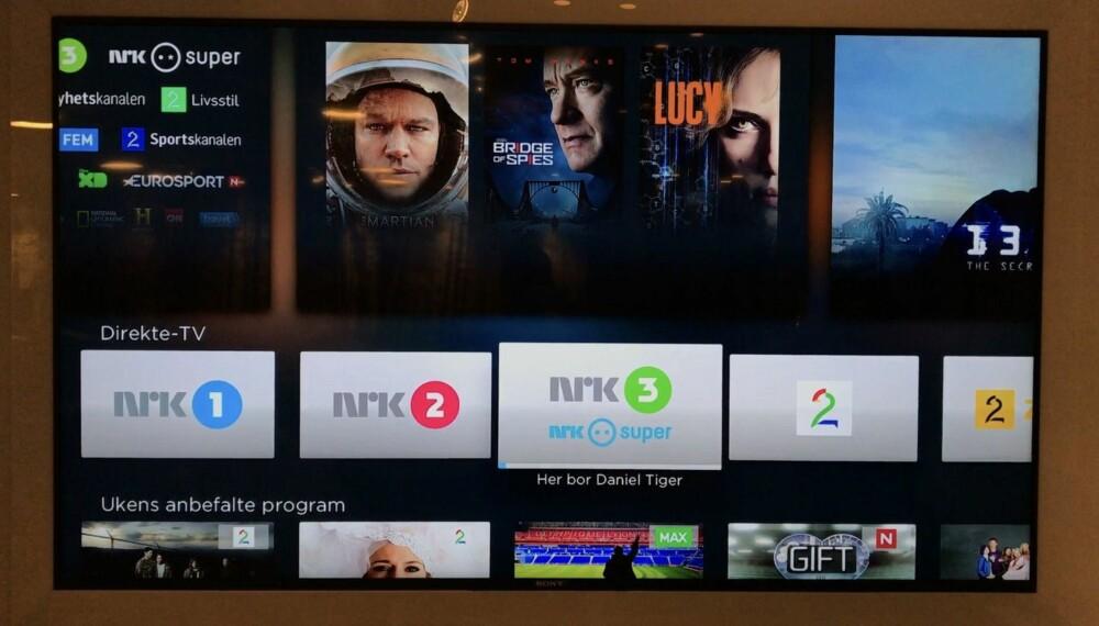 ALLE KANALENE PÅ APPLE TV: Canal Digitals satellittabonnenter kan nå få alle kanalene sine på Apple TV. Det er i praksis lineær TV i ny innpakning, med noen ekstra funksjoner på toppen.