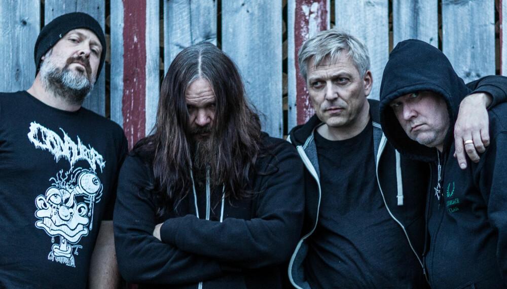 NYTT BAND: Kjetil er tilbake i musikkbransjen med det nye bandet Order. Her med de resten av bandet fra venstre Stu Manx, Anders Odden og Messiah (Billy).