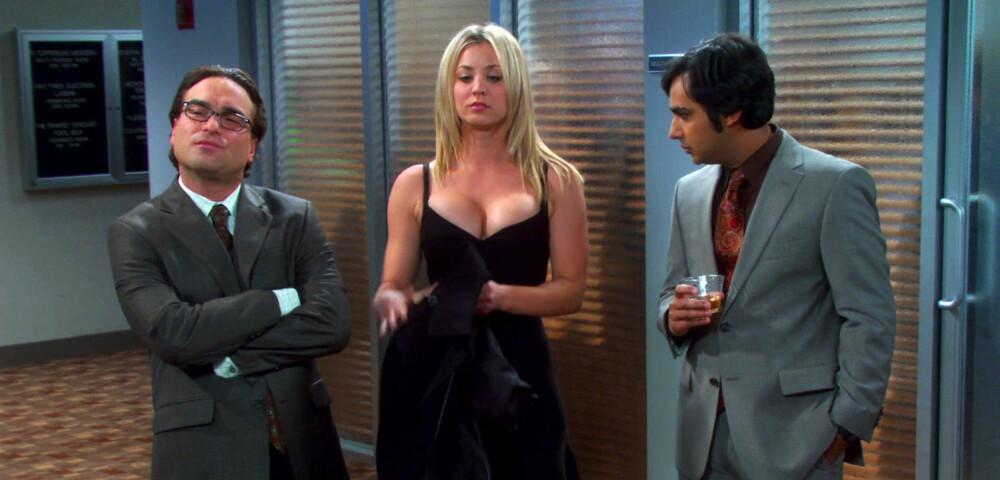 <b>NERDENES SEXSYMBOL:</b> «Big Bang»-stjernen Kaley Cuoco anses som en av verdens mest sexy kvinner. Serien er ikke fremmed for å spille Kaleys fordeler ...