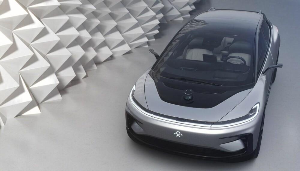 Faraday Future satser på en bil som absolutt skiller seg ut.