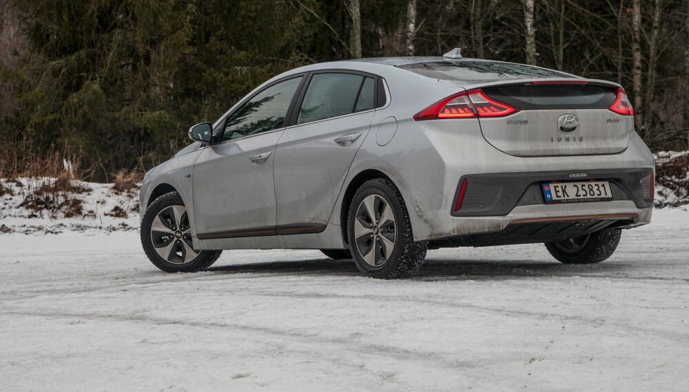 SLITER MED Å LEVERE: Ioniq er en populær elbil som Hyundai sliter med å levere.
