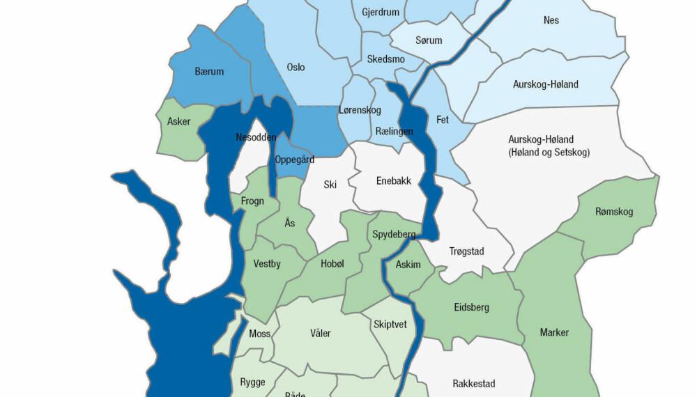 Utrullingsplan for AMS i Hafslunds område.