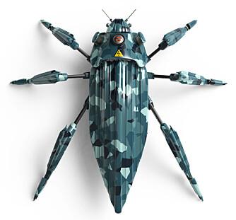 FRYKTER MIKROVÅPEN: Mikromaskiner kan kan forbedre menneskenes liv, men de kan også misbrukes til å skape våpen som kan få det til å gå kaldt nedover ryggen på en. Et av mange, mange eksempler er selvstyrte mikromaskiner på størrelse med mygg som er programmert til å lande på mennesker og injisere dem med gift. Bildet er en illustrasjon.