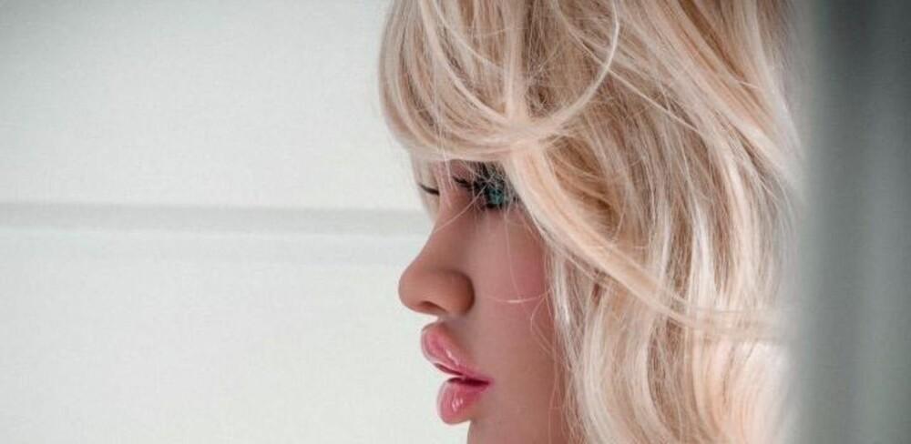 Lumi-dukken Katy skal ifølge produsenten ha et europeisk utseende. Hun er en av de fire Lumi-dukkene som tjenestegjør ved det som skal være Europas første sexdukkebordell.