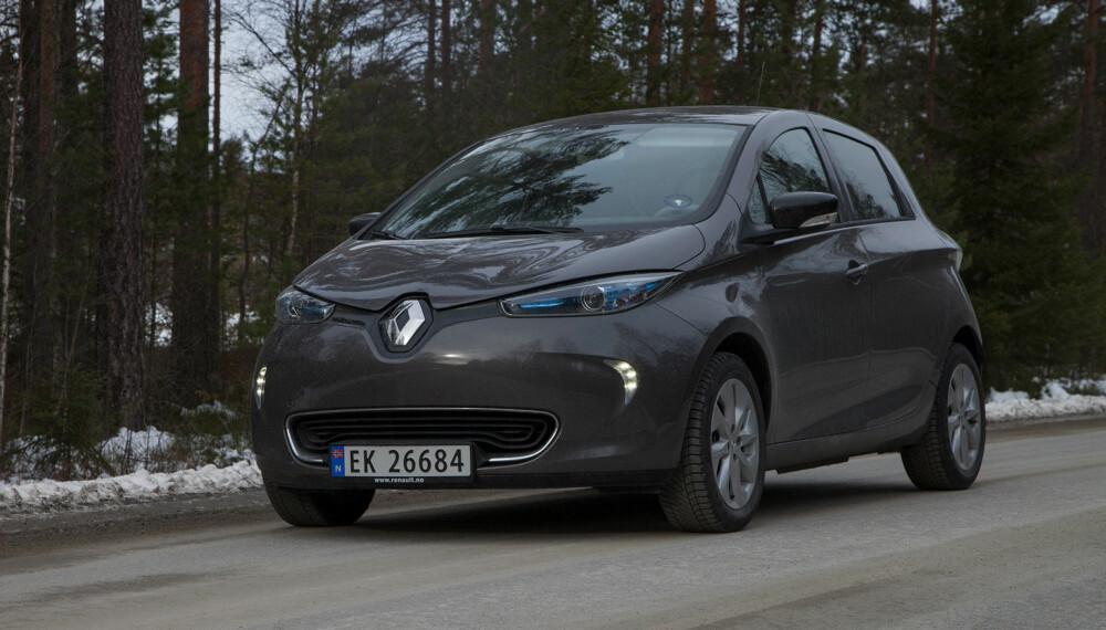 Renault Zoe er bilen som gir deg mest rekkevidde for pengene.