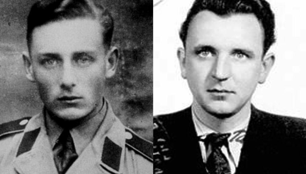 Helmut Oberlander (t.v.) og Algimantas Dailide.