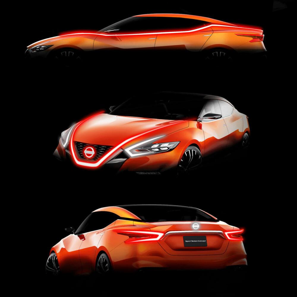 DESIGNSPRÅK: Nissan har utviklet designspråket Vmotion som grunnlag for sine nye modeller.