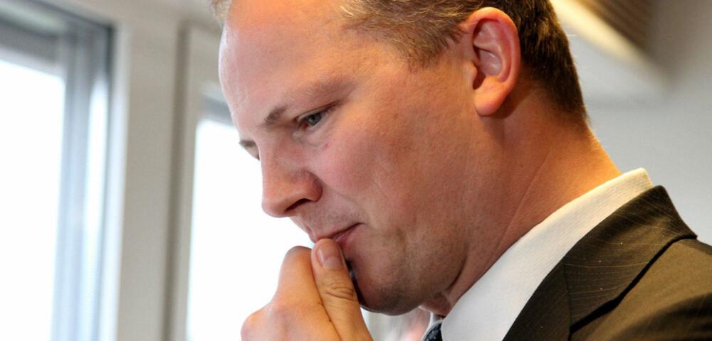 Norges samferdselsminister Ketil Solvik-Olsen (45).