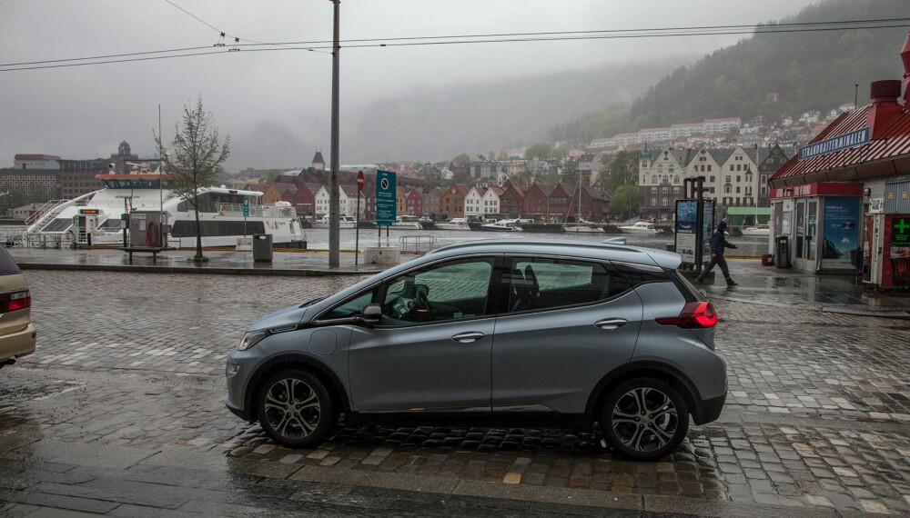 VEL FREMME i Bergen - selvfølgelig i regn.