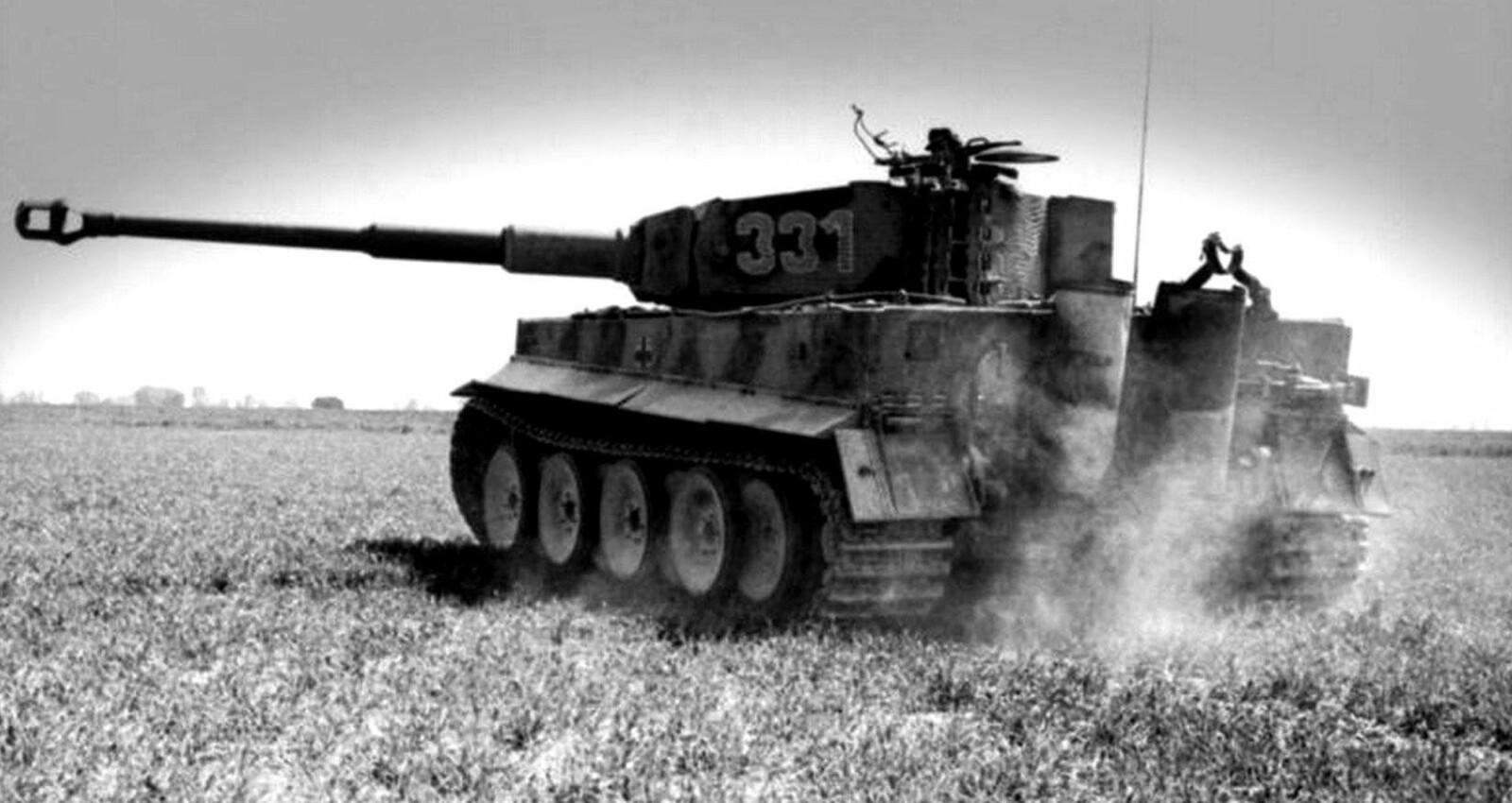 Den tyske Tiger-stridsvognen eliminerte nesten 10.000 sovjetiske tanks i løpet av krigen.